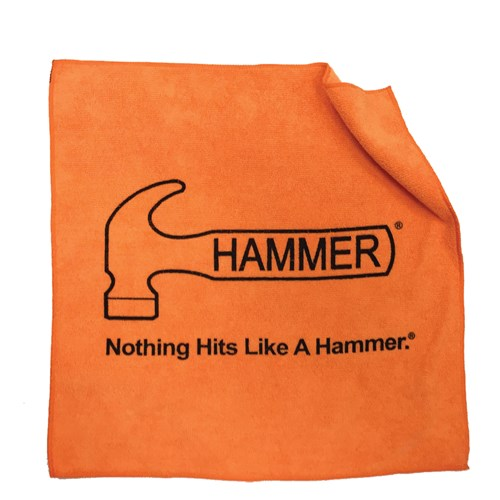 Hammer Microfiber Towel Orange Main Image