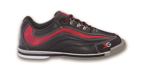3G Mens Sport Ultra Black/Red Left Hand Main Image