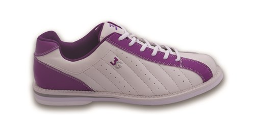 3G Womens Kicks White/Purple Main Image