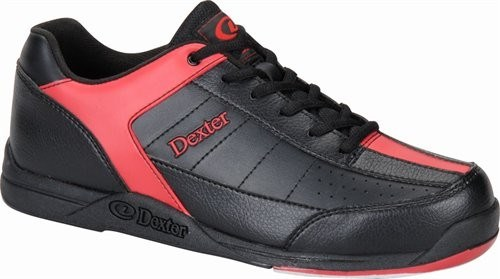 Dexter Mens Ricky III Black/Red WIDE WIDTH-ALMOST NEW Main Image