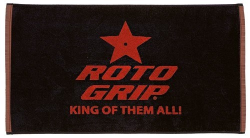 Roto Grip Woven Towel Black/Red - ALMOST NEW Main Image