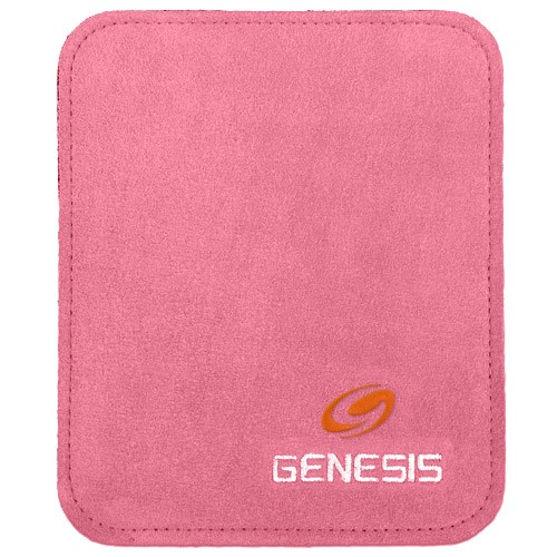 Genesis Pure Pad Buffalo Leather Ball Wipe Pink Main Image
