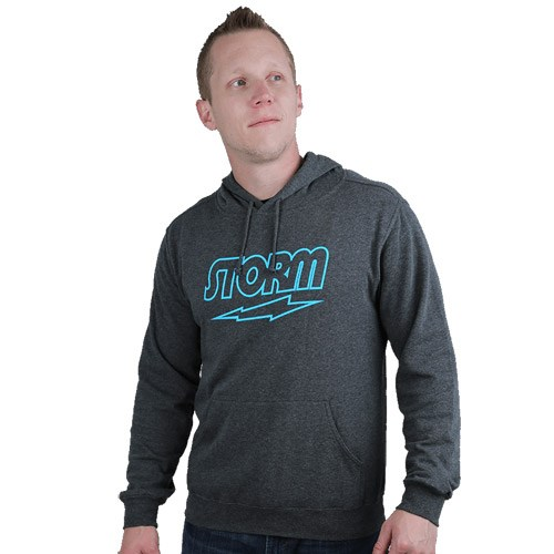 Storm Classic Hoodie Charcoal/Blue Main Image