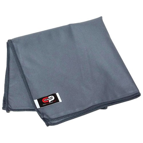 Classic Micro Suede Towel Grey Main Image
