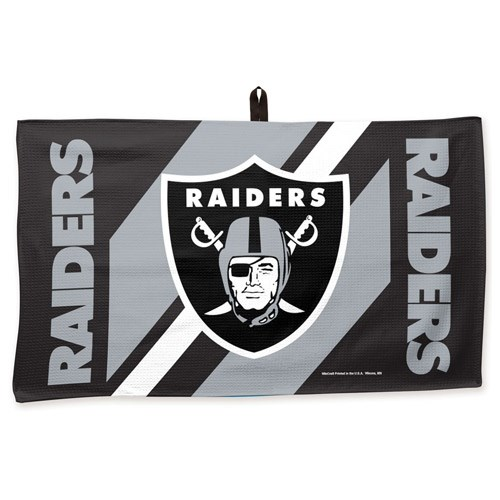 Master NFL Towel Raiders 14X24