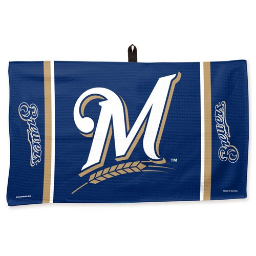Master MLB Towel Milwaukee Brewers 14X24
