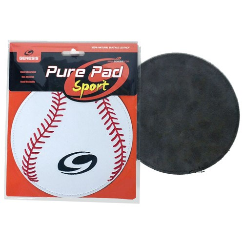 Genesis Pure Pad Sport Leather Ball Wipe Baseball Main Image