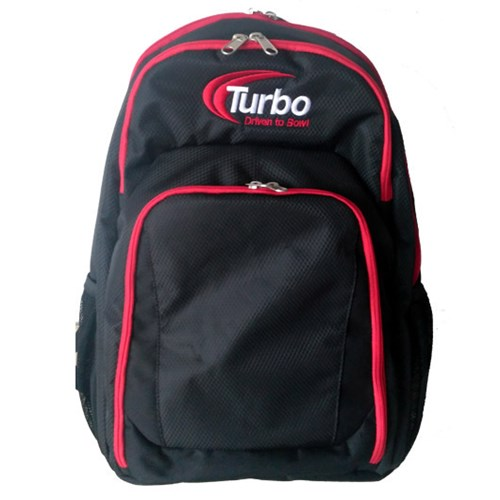 Turbo Smart Backpack Electric Black/Red Main Image