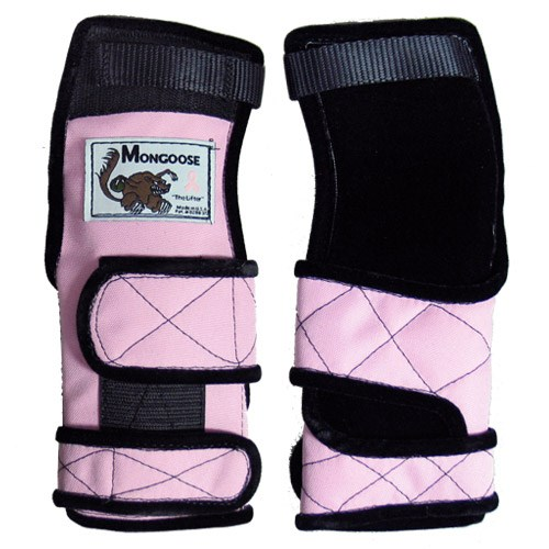 Mongoose Lifter Wrist Support Pink LH Main Image