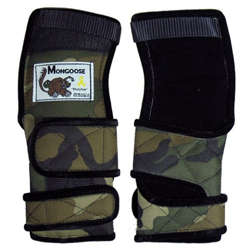 Mongoose Lifter Wrist Support Camo LH Main Image