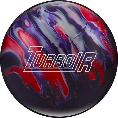 Ebonite Turbo/R Purple/Red/Silver Main Image