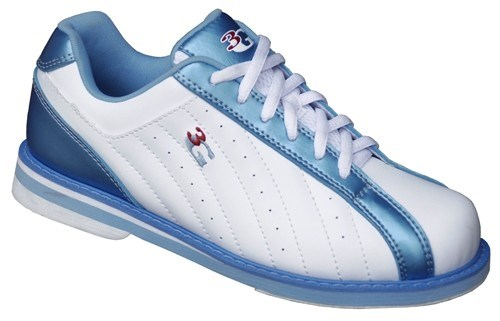 3G Womens Kicks White/Blue-ALMOST NEW Main Image