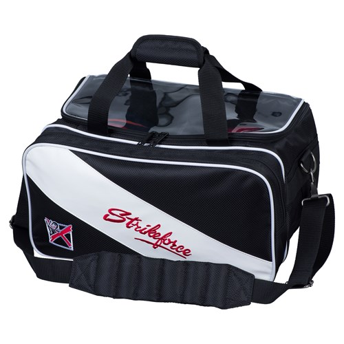 KR Strikeforce Fast Double Tote With Shoes Black/White Main Image