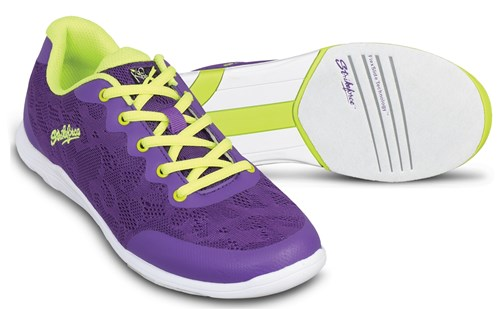 KR Strikeforce Womens Lace Purple/Yellow Main Image