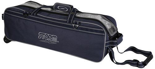 Storm 3 Ball Tournament Travel Roller/Tote Navy Main Image