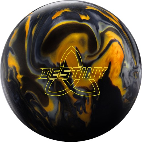 Ebonite Destiny Hybrid Black/Gold/Silver Main Image