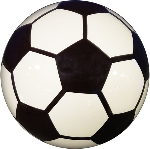 KR Strikeforce The Clear Soccer Ball Main Image