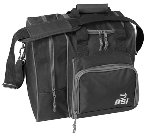 BSI Deluxe Single Tote Black/Black Main Image