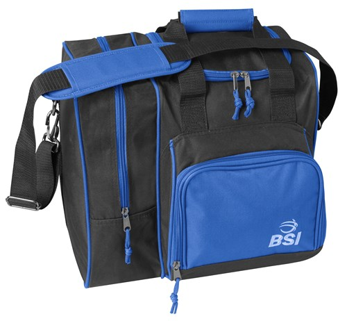 BSI Deluxe Single Black/Blue Tote Main Image