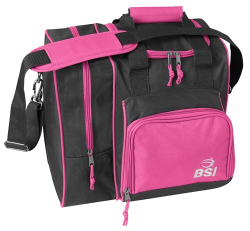 BSI Deluxe Single Tote Pink/Black Main Image
