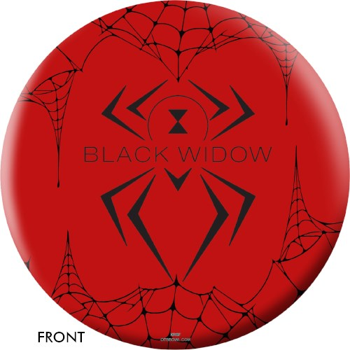 OnTheBallBowling Black Widow Red Main Image
