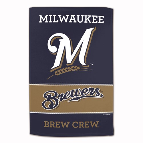 MLB Towel Milwaukee Brewers 16X25