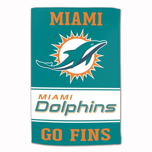 NFL Towel Miami Dolphins 16X25 Main Image