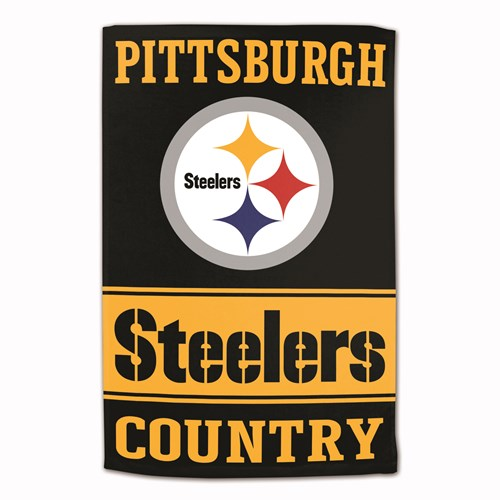 NFL Towel Pittsburgh Steelers 16X25 Main Image
