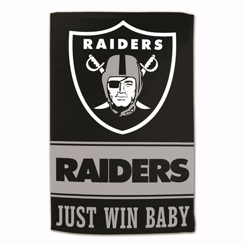 NFL Towel Oakland Raiders 16X25 Main Image