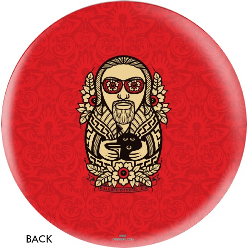 OnTheBallBowling The Big Lebowski The Dude Ball Main Image