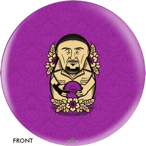 OnTheBallBowling The Big Lebowski Purple Jesus Ball Main Image