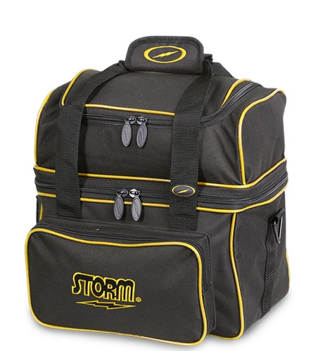 Storm 1 Ball Flip Tote Black/Gold Main Image