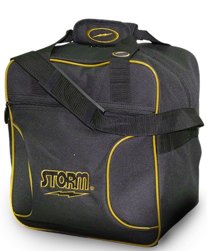 Storm Solo Single Tote Black/Gold Main Image
