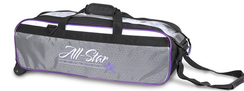 Roto Grip 3 Ball All-Star Edition Travel Tote Purple Main Image