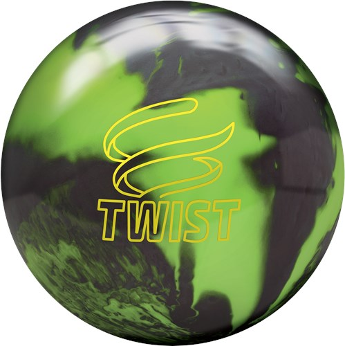 Brunswick Twist Neon Green/Black Main Image