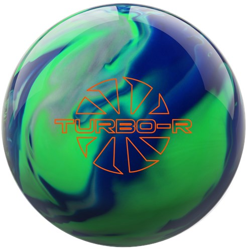 Ebonite Turbo/R Blue/Green/Silver Main Image