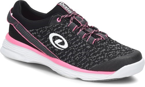 Dexter Womens Jenna II Black/Grey/Pink-ALMOST NEW Main Image