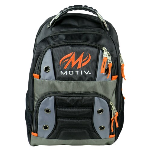 Motiv Intrepid Backpack Black/Orange Main Image