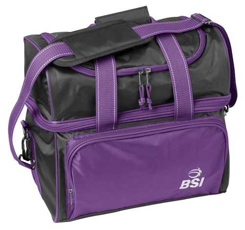 BSI Taxi Single Tote Purple/Black Main Image