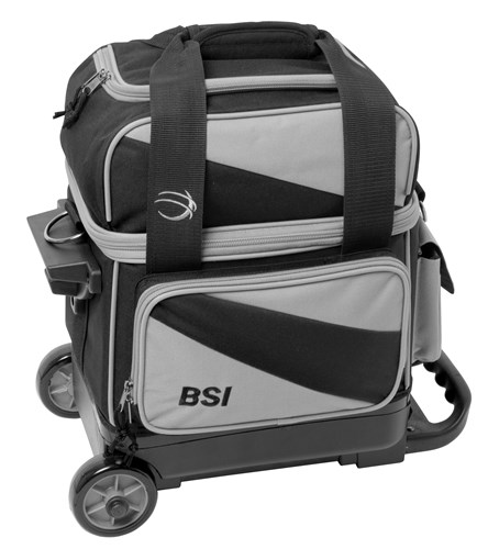 BSI Prestige 1 Ball Roller Grey/Black Main Image