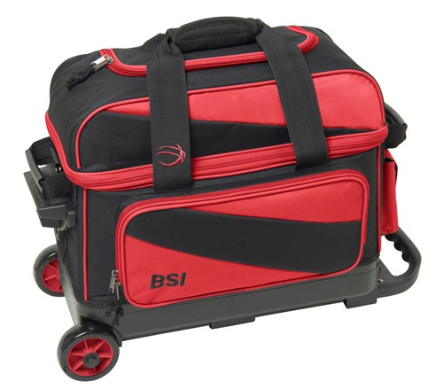 BSI Prestige Double Ball Roller Black/Red Main Image