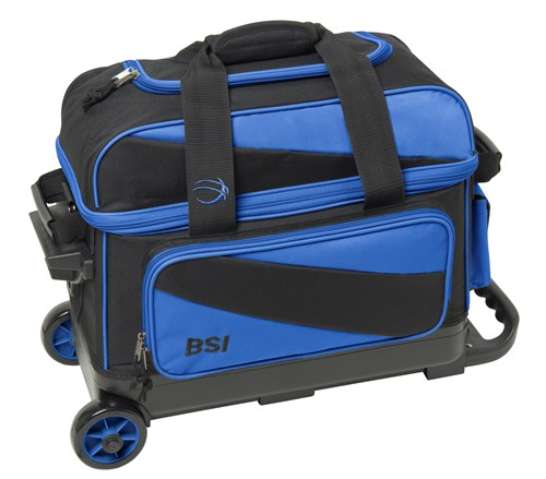 BSI Prestige Double Ball Roller Black/Blue Main Image