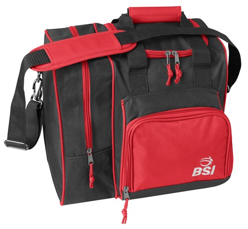 BSI Deluxe Single Tote Red/Black Main Image