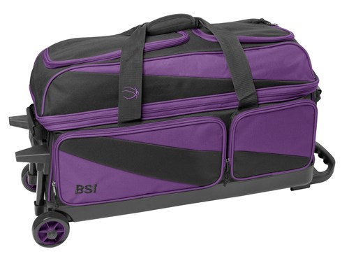 BSI Prestige Triple Roller Purple/Black Main Image