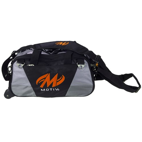 Motiv Ballistix Double Tote Black/Orange Main Image