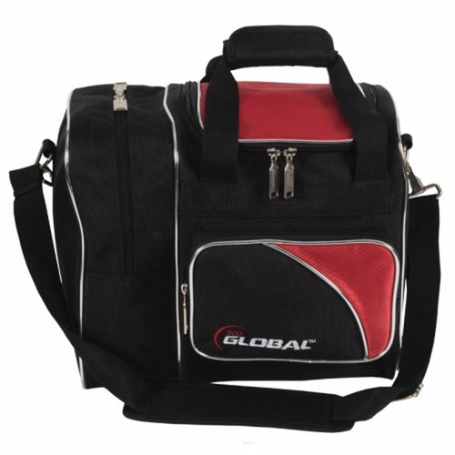 900Global Deluxe Single Tote Red/Black Main Image