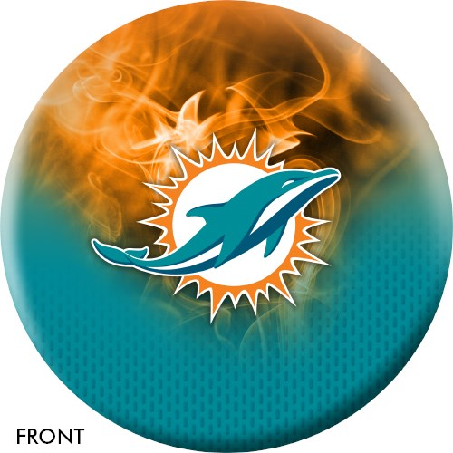 KR Strikeforce NFL on Fire Miami Dolphins Ball Main Image