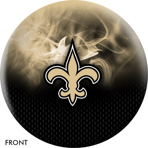 KR Strikeforce NFL on Fire New Orleans Saints Ball Main Image