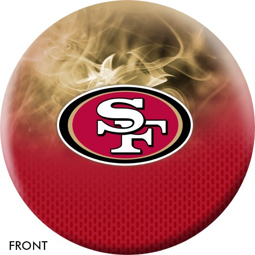 KR Strikeforce NFL on Fire San Francisco 49ers Ball Main Image