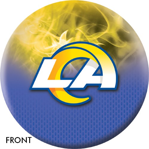 KR Strikeforce NFL on Fire Los Angeles Rams Ball Main Image